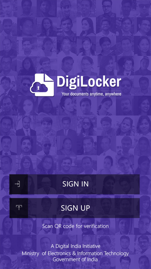 DigiLocker- screenshot