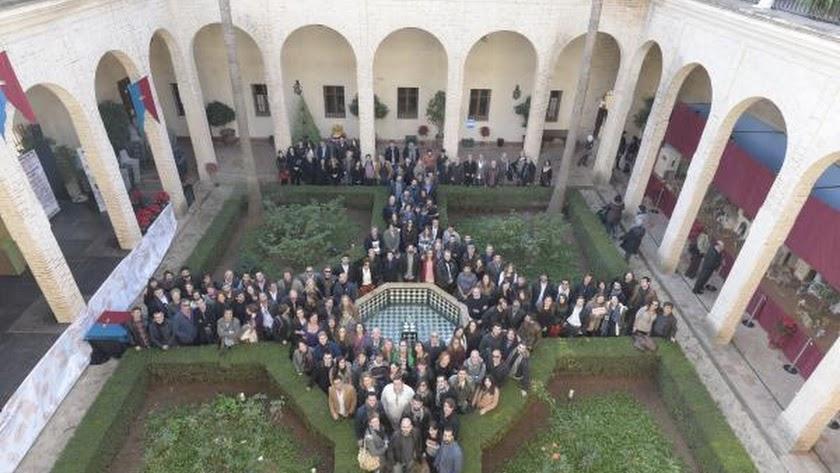 Los nominados se reunieron el sábado en el Palacio de los Marqueses de la Algaba.