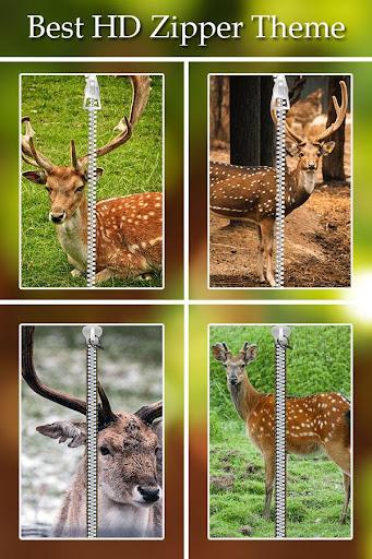 Deer Zipper Lock