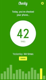 Checky - Phone Habit Tracker Screenshot