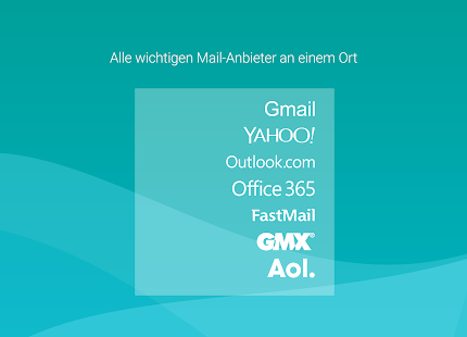Aqua Mail Pro Key – Miniaturansicht des Screenshots
