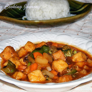 Cantonese Sweet and Sour Stir Fry with Tofu and Vegetables – IFC # 1.