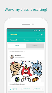 Classting- screenshot thumbnail