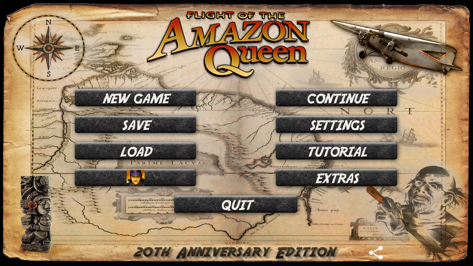 Flight of the Amazon Queen- screenshot