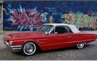 Ford Thunderbird Convertible Rent New York