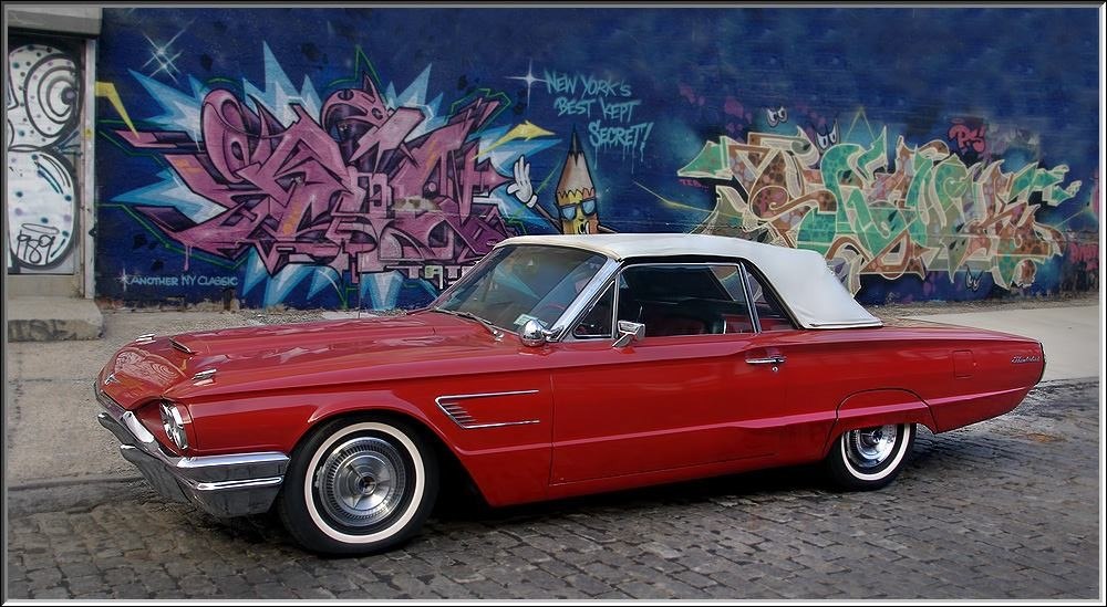 Ford Thunderbird Convertible Hire Baldwin