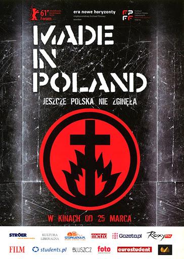 Przód ulotki filmu 'Made In Poland'