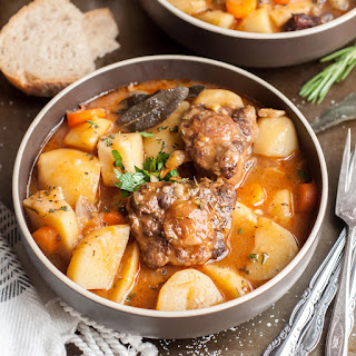 Pressure Cooker Oxtail Stew.