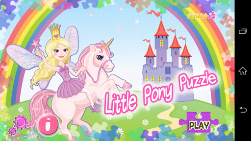 Little Pony Puzzle My Princess