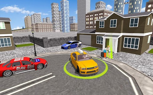 City Taxi Driving simulator: online Cab Games 2020 5