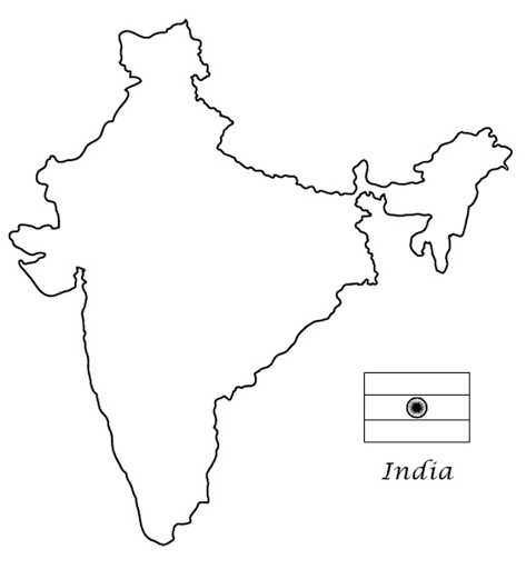 India Map Drawing Drawing of the Indian map — Google Arts & Culture India Map Drawing