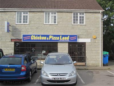 Chicken Pizza Land On West Street Take Away Food Shops