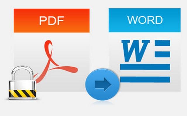 free conversion pdf to word