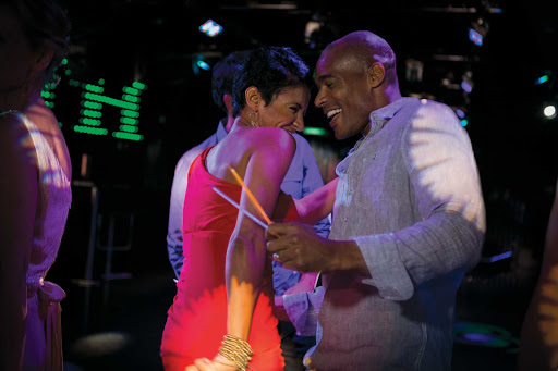 norwegian-bliss-nightlife.jpg -  Shake it up on the dance floor — there are tons of nightlife options on Norwegian Bliss.