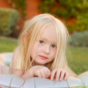 lying low by Steve Weston - Babies & Children Child Portraits