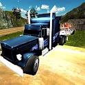 Cargo Truck Animal Transport icon