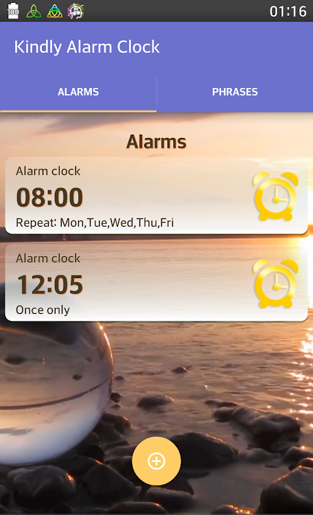 Kindly Alarm Clock – (Android Applications) — AppAgg