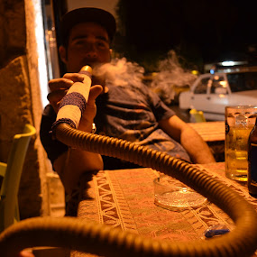 Hookah time in Southern Turkey by Robyn Vincent - People Street & Candids