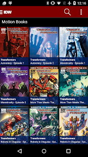 Transformers Comics- screenshot thumbnail