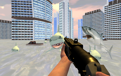 Shark City Attack : Shark Games 1.3 screenshots 4