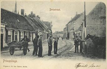 Photo: 1902 Dorpstraat, sinds 1907 Voorstraat en sinds 1942 Haagweg