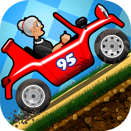 Angry Gran - Hill Racing Car (game)