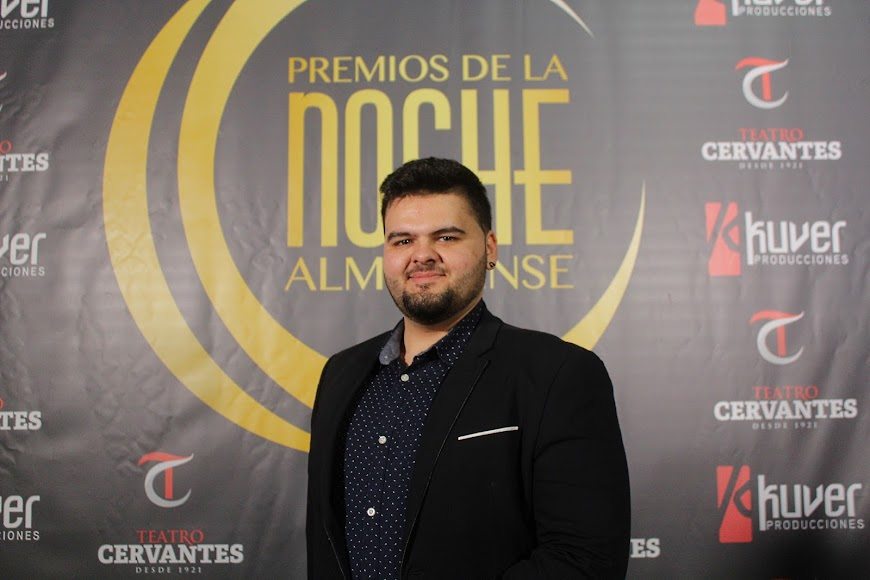 Invitado a los Premios de la Noche Almeriense en el photocall.