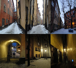 Photo: Gamla Stan, het oude stadscentrum : steegjes …