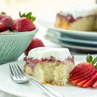 Gluten-Free Strawberry Upside Down Cake