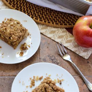 Caramel Apple Crisp Bars {Vegan}