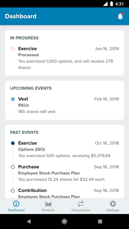 StockPlan Connect – (Android Apps) — AppAgg