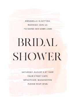 Annabelle's Bridal Shower - Bridal Shower Invitation item