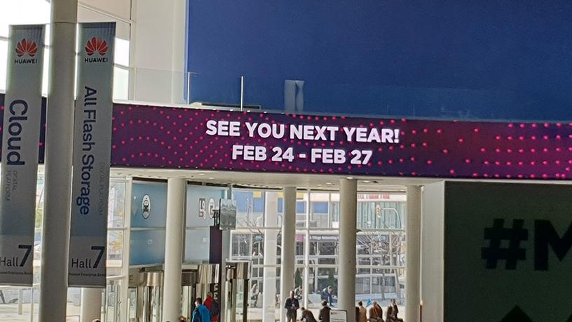 And that's a wrap. See you next year MWC!