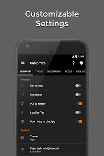 Hermit • Lite Apps Browser Screenshot