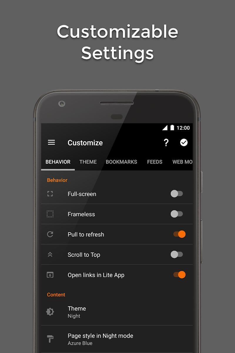 Hermit • Lite Apps Browser Screenshot 4