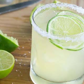 My Best Classic Margarita.