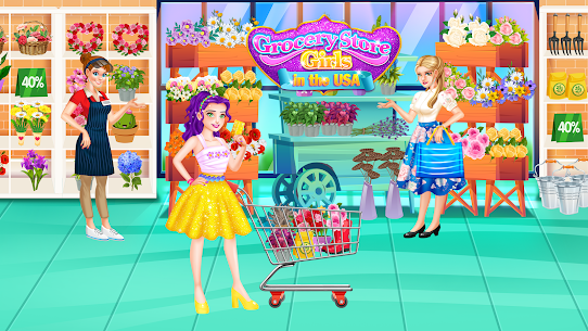 Grocery Store Girl in the USA – Shopping Games 1.2 Mod APK Updated Android 3