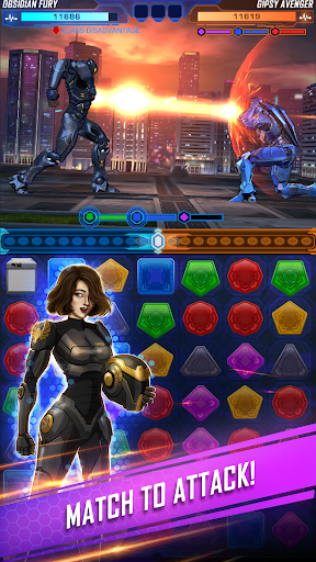 Pacific Rim Breach Wars - Robot Puzzle Action RPG 1.7.2 screenshots 5