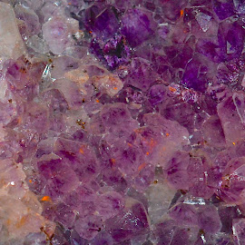 Closeup of an amethyst by Victoria Eversole - Abstract Macro ( macro photography, amethyst, abstract )