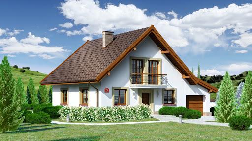 projekt Dom przy Oliwkowej 3