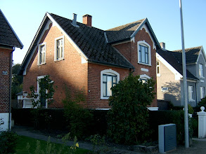 Photo: Bådebygger Carl Poulsens hus på Kanalvej 90, Odense.