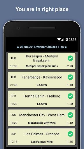 玩免費運動APP|下載Winner Choices Betting Tips app不用錢|硬是要APP