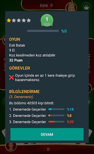 Batak - Tekli, Eu015fli u0130nternetsiz Batak apkpoly screenshots 4