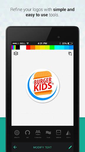 Logo Maker & Logo Creator Screenshot
