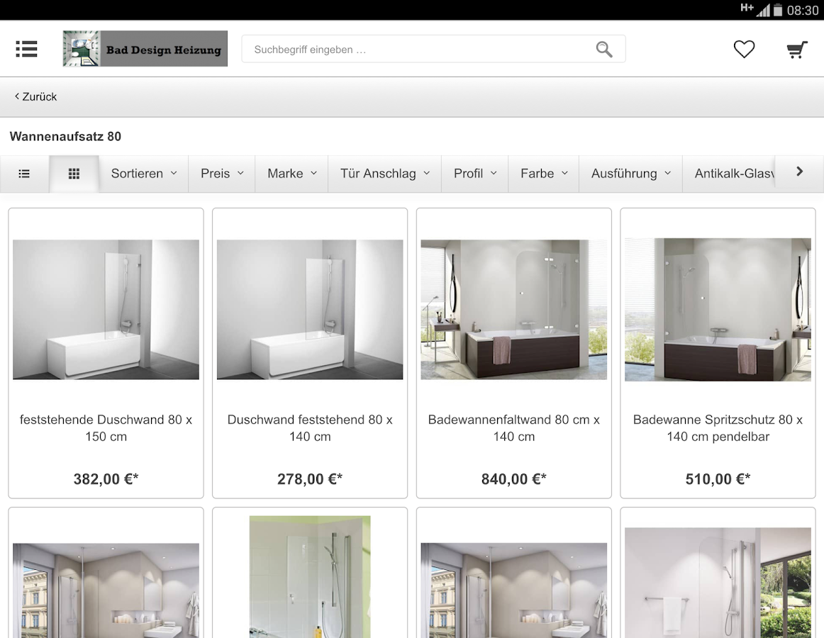 bad design heizung android apps on google play. Black Bedroom Furniture Sets. Home Design Ideas