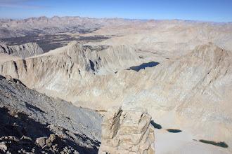 Photo: From the Mount Whitney summit, northwest