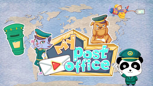 Baby Panda's Post Office - screenshot