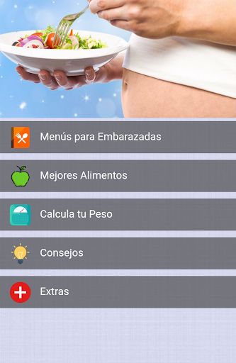 Menu00fa para Embarazadas 1.0 Screenshots 1