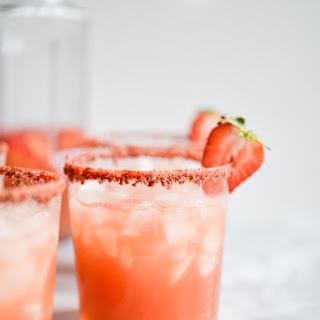 Sparkling Rosé Margarita Pitchers.