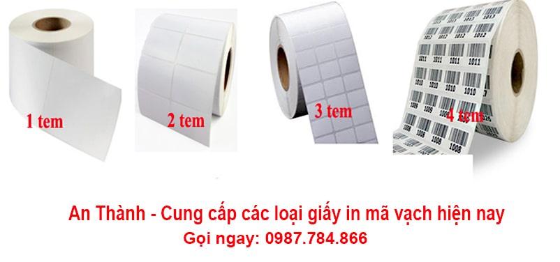 Đa dạng kích thước giấy in mã vạch chính hãng tại Hà Nội